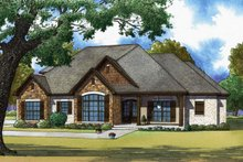 Home Plan - Craftsman Exterior - Front Elevation Plan #923-65