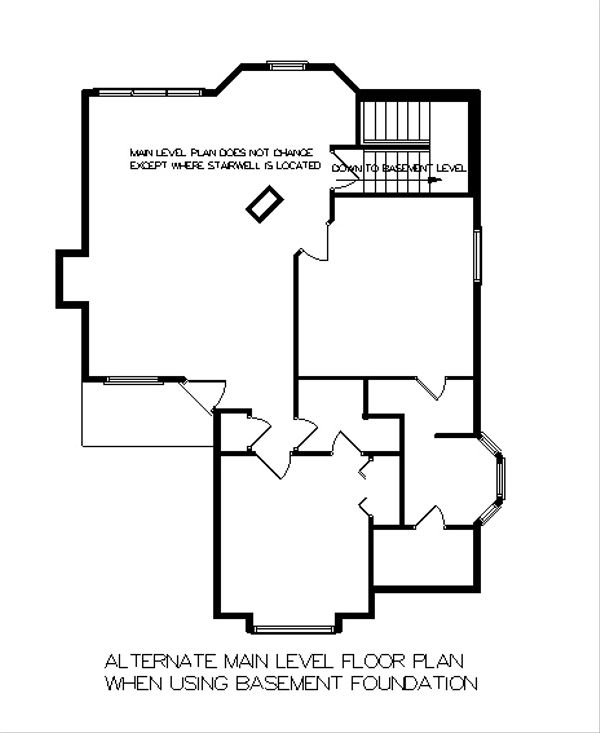 Mediterranean Floor Plan - Other Floor Plan Plan #45-101