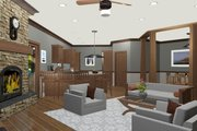 Cottage Style House Plan - 3 Beds 3 Baths 1898 Sq/Ft Plan #56-716 Interior - Other