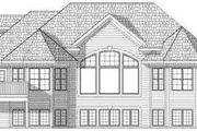 European Style House Plan - 2 Beds 2 Baths 1878 Sq/Ft Plan #70-660 Exterior - Rear Elevation
