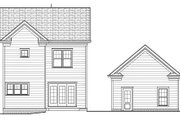 Victorian Style House Plan - 4 Beds 3 Baths 2224 Sq/Ft Plan #413-795 Exterior - Rear Elevation