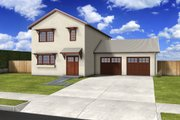 Traditional Style House Plan - 3 Beds 2.5 Baths 1694 Sq/Ft Plan #497-38