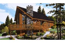 Home Plan - European Exterior - Front Elevation Plan #3-290
