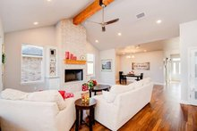Craftsman Interior - Family Room Plan #48-532