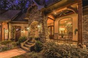 Craftsman Style House Plan - 4 Beds 3.5 Baths 2482 Sq/Ft Plan #120-184 Exterior - Covered Porch