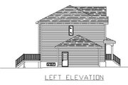 Traditional Style House Plan - 3 Beds 1.5 Baths 2428 Sq/Ft Plan #138-240 Exterior - Other Elevation
