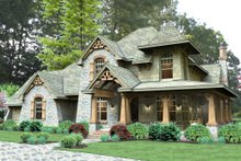 Craftsman Exterior - Front Elevation Plan #120-179