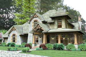 Craftsman Exterior - Front Elevation Plan #120-179