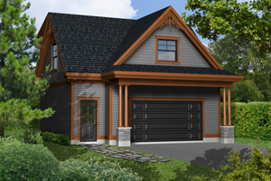 Traditional Exterior - Front Elevation Plan #25-4755