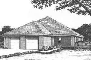 Traditional Exterior - Front Elevation Plan #310-436