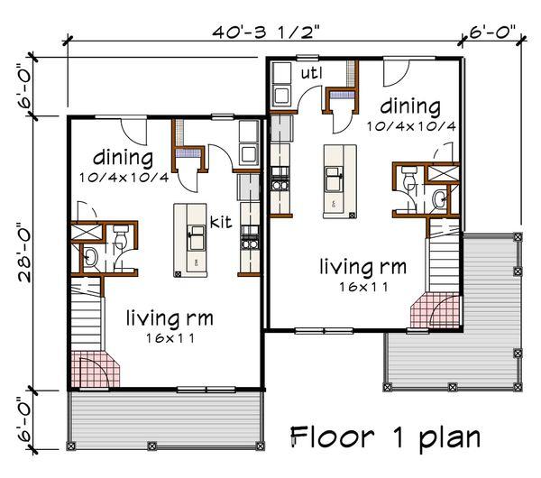 House Plan Design - Traditional Floor Plan - Main Floor Plan #79-239