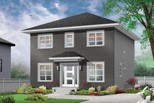 Home Plan - Traditional Exterior - Front Elevation Plan #23-2625