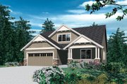 Craftsman Style House Plan - 4 Beds 2.5 Baths 1866 Sq/Ft Plan #48-609 Exterior - Front Elevation