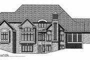 European Style House Plan - 5 Beds 5.5 Baths 6571 Sq/Ft Plan #70-559 Exterior - Other Elevation