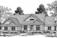 Dream House Plan - Country Photo Plan #70-377