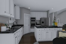 Traditional Interior - Kitchen Plan #1060-56