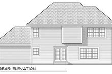 Craftsman Exterior - Rear Elevation Plan #70-933