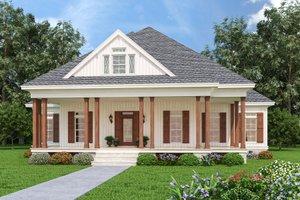 Farmhouse Exterior - Front Elevation Plan #45-597