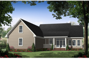 Southern Style House Plan - 3 Beds 2.5 Baths 1888 Sq/Ft Plan #21-238 Exterior - Other Elevation
