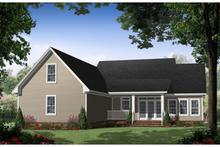Dream House Plan - Rear Elevation