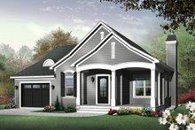 Cottage Exterior - Front Elevation Plan #23-562