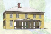 Classical Style House Plan - 4 Beds 3.5 Baths 3000 Sq/Ft Plan #477-7