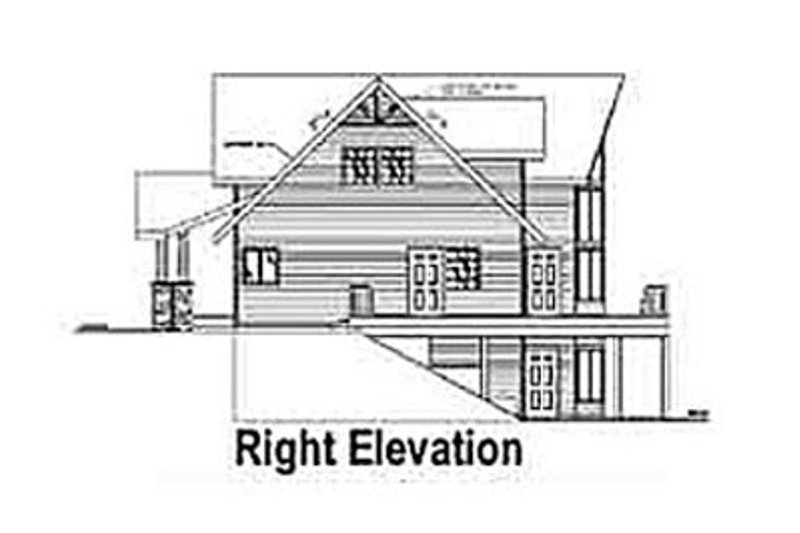Country Exterior - Other Elevation Plan #117-301 - Houseplans.com