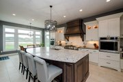 Ranch Style House Plan - 4 Beds 4 Baths 2609 Sq/Ft Plan #70-1501 Interior - Kitchen