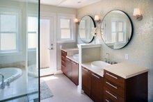 House Plan Design - Contemporary style home, modern design house, Master Bathroom photo