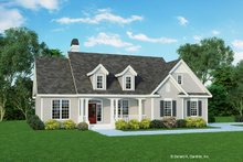 Home Plan - Cottage Exterior - Front Elevation Plan #929-433