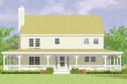 Country Style House Plan - 4 Beds 3 Baths 2295 Sq/Ft Plan #72-341