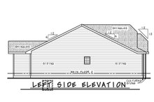 House Plan Design - Farmhouse Exterior - Other Elevation Plan #20-2444