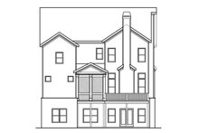 Dream House Plan - European Exterior - Rear Elevation Plan #419-233