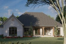 Dream House Plan - Ranch Exterior - Rear Elevation Plan #923-94
