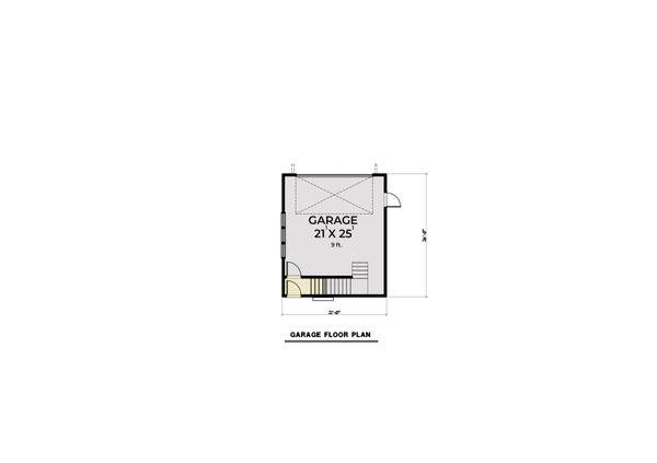 Home Plan - Farmhouse Floor Plan - Other Floor Plan #1070-112