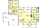 Farmhouse Style House Plan - 4 Beds 3.5 Baths 2763 Sq/Ft Plan #430-205 Floor Plan - Main Floor Plan