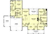 Farmhouse Style House Plan - 4 Beds 3.5 Baths 2763 Sq/Ft Plan #430-205 Floor Plan - Main Floor Plan