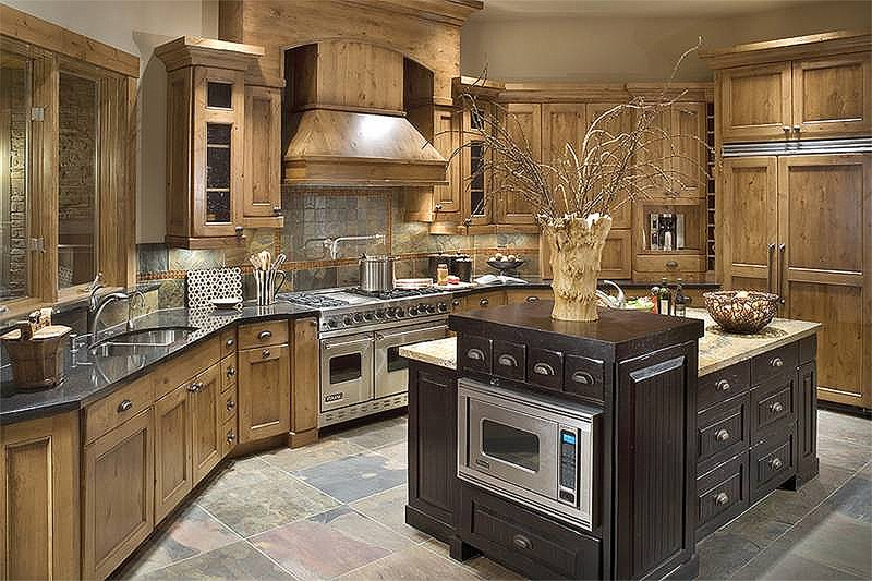 Kitchen - 5100 Square foot Craftsman home