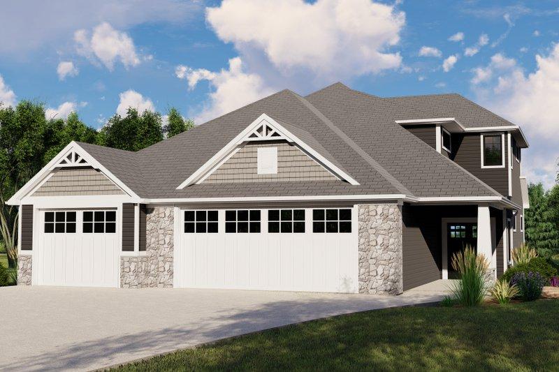 House Plan Design - Cottage Exterior - Front Elevation Plan #1064-107