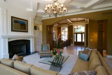 Home Plan - Entry - 7000 square foot Traditional home