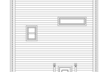 Home Plan Design - Contemporary Exterior - Rear Elevation Plan #932-317