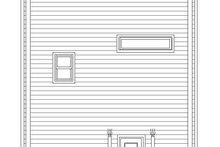 Architectural House Design - Contemporary Exterior - Rear Elevation Plan #932-317