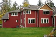 Craftsman Style House Plan - 3 Beds 2.5 Baths 2907 Sq/Ft Plan #48-517 Exterior - Rear Elevation