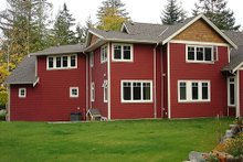 Rear View - 2900 square foot Craftsman Home