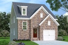 Dream House Plan - Traditional Exterior - Front Elevation Plan #419-250