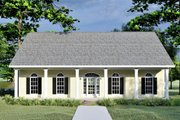 Country Style House Plan - 3 Beds 2 Baths 1735 Sq/Ft Plan #44-176