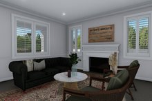 House Plan Design - Traditional Interior - Family Room Plan #1060-8