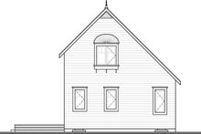 Home Plan - Traditional Exterior - Rear Elevation Plan #23-2025
