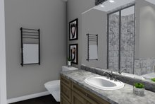 House Plan Design - Ranch Interior - Master Bathroom Plan #1060-42
