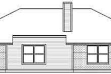 Dream House Plan - Traditional Exterior - Rear Elevation Plan #84-193